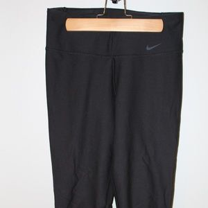 Black Nike Legend Crops - Womens S
